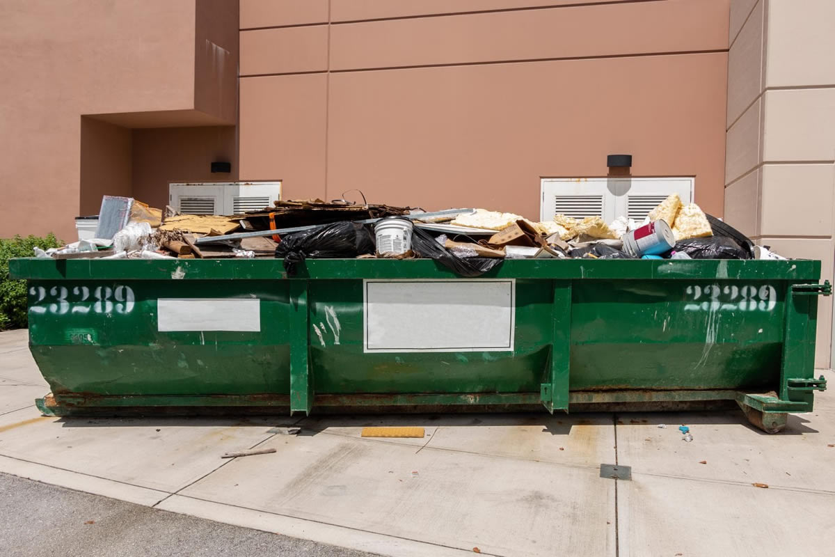 Four Reasons to Rent a Dumpster for Your Yard Projects